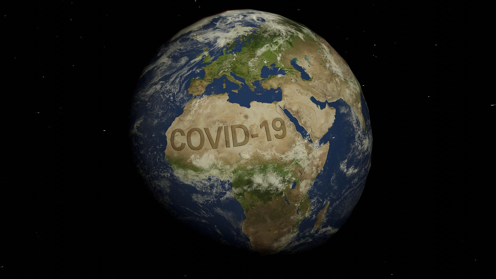 Weltweite Auswirkungen der Covid-19 Pandemie
